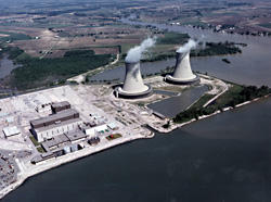 Fermi II is one of three nuclear power plants in Michigan