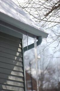 Matt Grocoff says icicles are pretty, but they are also a bad sign that your roof could be suffering water damage, drip by drip.