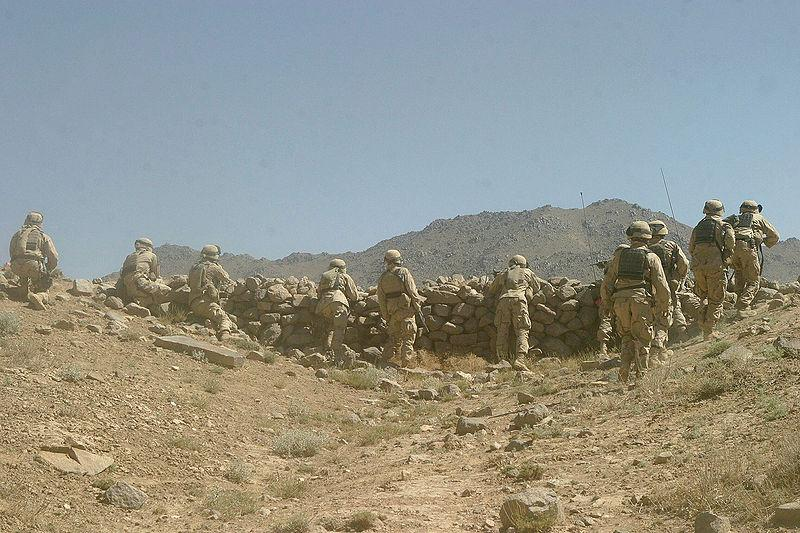 The 22nd Marine Expeditionary Unit of the 6th Marines in Afghanistan in 2004.