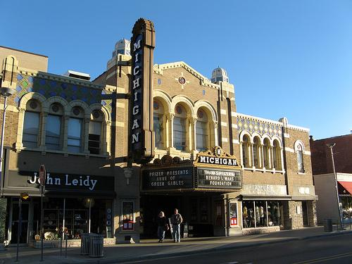 AAFF films are screened at the Michigan Theater in Ann Arbor