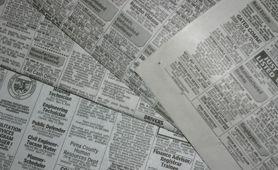 Legal notices are currently published in newspapers by law