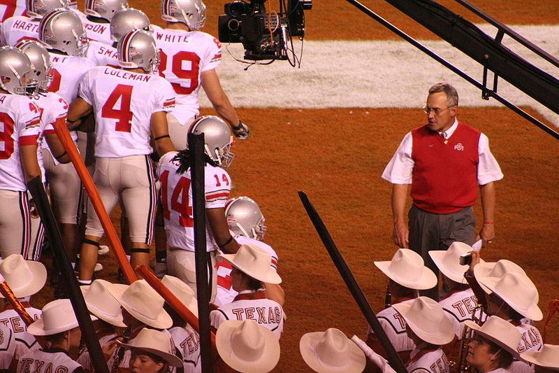 Ohio State coach Jim Tressel. Ohio State has suspended the coach for two games next season.