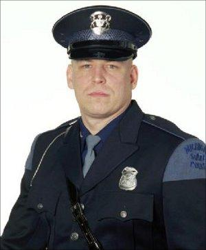 Michigan State Police trooper Jeffery Werda