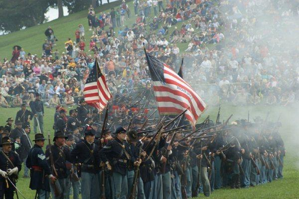 The annual Civil War muster draws thousands of people to Jackson's Cascades Park every year