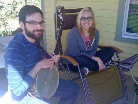 """Erin and Eric will perform with their band Lake Folk on Sunday at 4 p.m. as part of the first ever """"Water Hill Music Festival"""""""