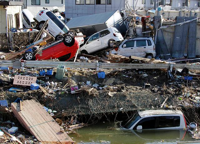 The aftermath of the earthquake and tsunami in Japan. Crippled nuclear power plants have fueled worries of radiation exposure.
