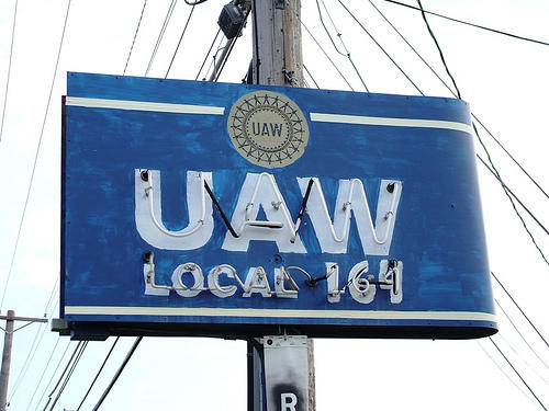 UAW membership has risen for the first time since 2004
