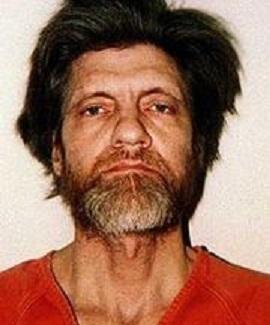 Theodore John Kaczynski, mug shot 1996