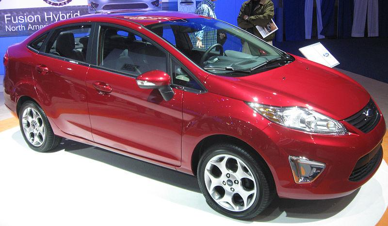 Models like the new Ford Fiesta are selling well during these times of high gas prices.