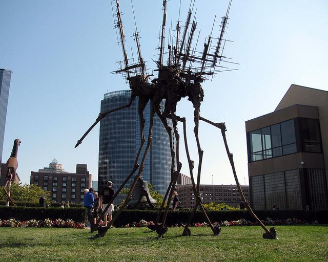 2010 ArtPrize exhibit displayed in Grand Rapids