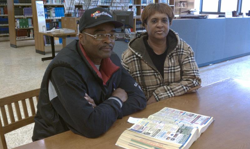 Michael Jenkins, left, and Cassadra Dee.