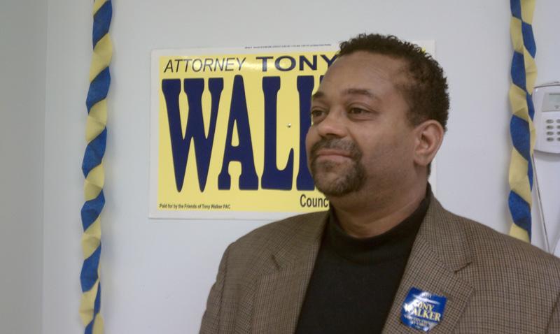 Tony Walker, president of the Gary Public Library Board.