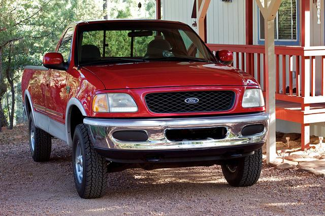 The National Highway Traffic Safety Administration is looking at Ford F-150s from the 1997 through 2001 model years. It's investigating a fuel tank problem that could affect more than 2.7 million pickup trucks.