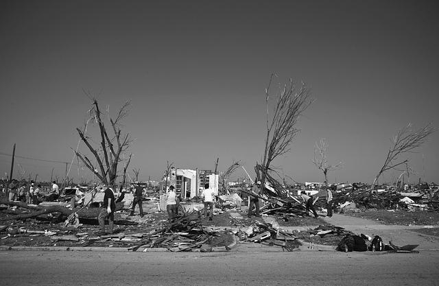 Relief efforts are underway in Joplin, MO.