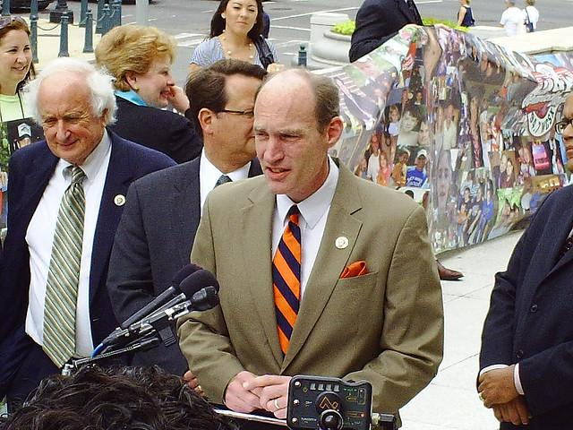 Former Michigan U.S. Representative Thaddeus McCotter (R-11th District) resigned amid a petition signature scandal.