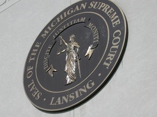 The seal of the Michigan Supreme Court