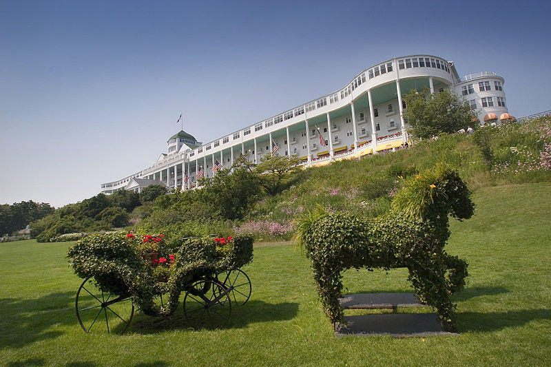 The site of the 2011 Mackinac Policy Conference
