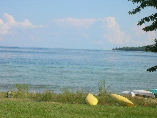Lake Michigan as seen from Beaver Island