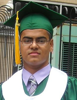 Detroit resident Mohammed Farad at his high school graduation.