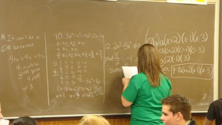 Nearly half the students who took this year's Michigan Merit Exam tested not proficient in math and writing.