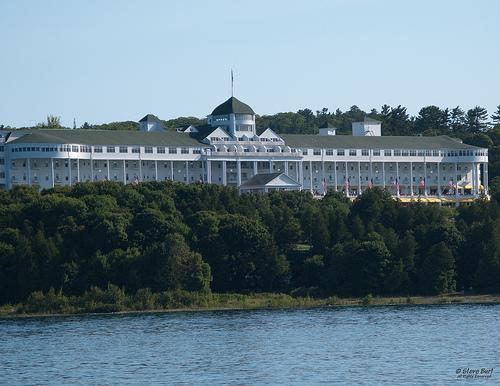 The 2011 Mackinac Policy Conference is being held at the Grand Hotel on Mackinac Island.