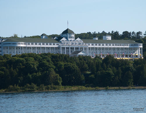 The Grand Hotel, Mackinac Island.