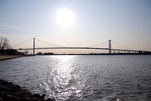 Michigan Senate hearings on a new Detroit River bridge crossing began this week.