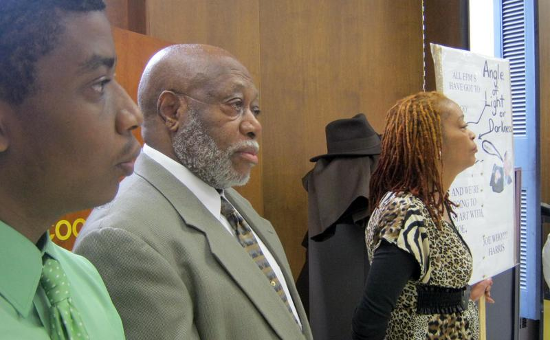 Benton Harbor Mayor Wilce Cook rallied against Harris  last month. At a meeting Monday he said they shouldn't defy Harris' orders, 'The state says we shouldn't pass a resolution, then I think we should be smart enough to not pass a resolution.'