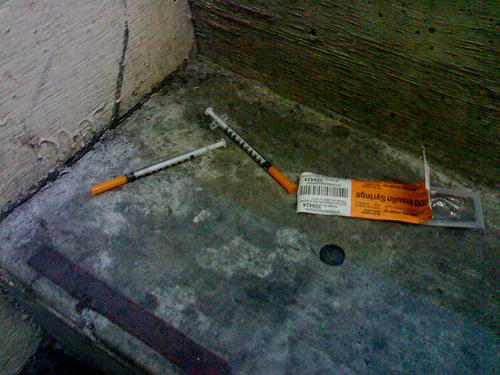 In our What's Working series, we hear about the Clean Works Project in Grand Rapids, MI. It runs a needle exchange program.