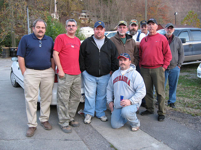 Surface miners in West Virginia.