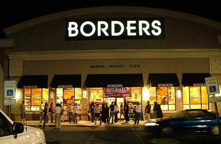 The closure of Borders is making headlines across the country this morning