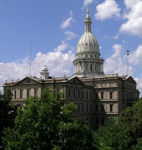 The Capitol Building in Lansing