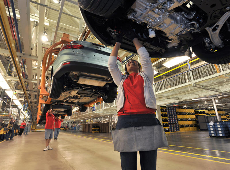 Workers at Ford's Michigan Assembly Plant will soon be working on larger vehicles.