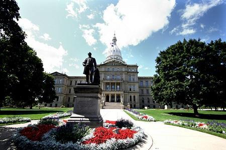 State Capitol, Lansing, Michigan