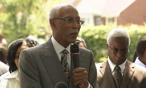 Mayor Dave Bing at a recent Detroit Works-related project announcement.