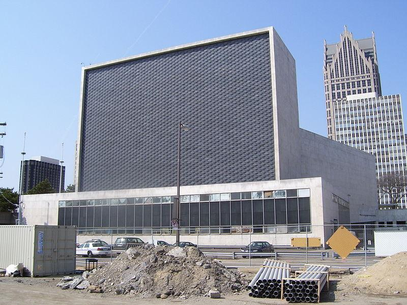 A mishap occurred during the demolition of the Ford Auditorium (former home of the Detroit Symphony Orchestra).