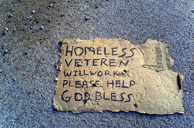 Money awarded to help homeless veterans.