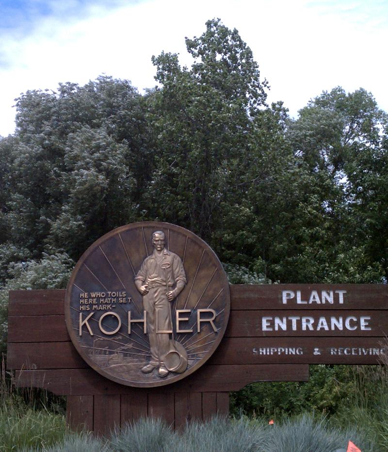 The name you see in many bathrooms around the country has its roots in Kohler, Wisconsin.