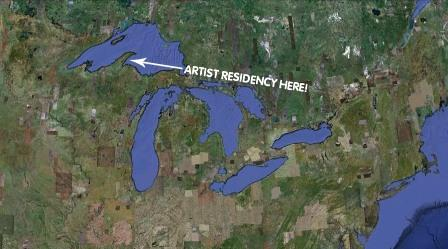 Rabbit Island lies three miles from Michigan's Keweenaw Peninsula
