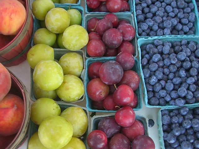 This was taken at the Allendale Farmers Market summer 2008. The Allendale Farmer's market is open for business Tuesdays and Fridays from 11 am - 4 pm. This is only during the summer which is from about the 2nd week of June to the last Friday in October.