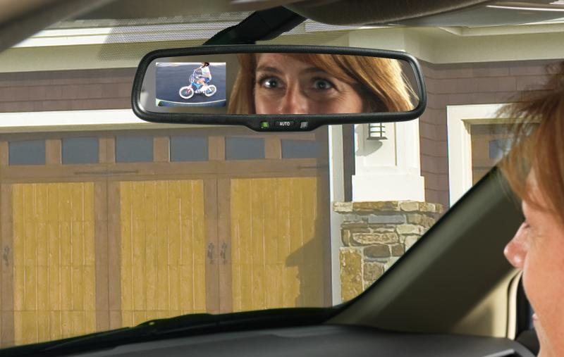 Gentex's rear-view mirror display is one of it's newer technologies that's in demand. The National Highway Transportation Safety Administration is considering federal regulations that would require all new vehicles to have back-up camera displays by 2014.