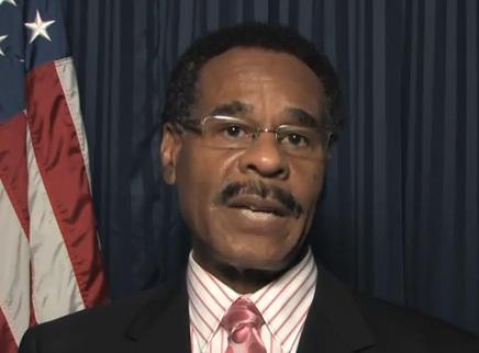 Emanuel Cleaver (D-MO), Chairman of the Congressional Black Caucus, announcing the jobs fair and town hall meeting on YouTube