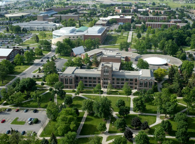 Central Michigan University in Mount Pleasant, Michigan.