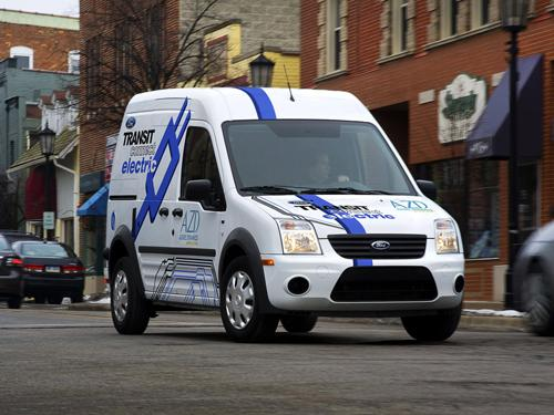 Transit Connect Electric Van
