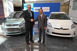 Ford's Derrick Kuzak and Toyota's Takeshi Uchiyamada