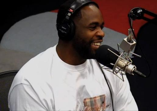 Kwame Kilpatrick is talking. Kilpatrick's appearance on the Tom Joyner Morning Show.