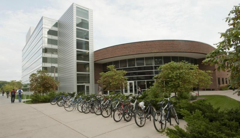 MSU's National Superconducting Cyclotron Laboratory in East Lansing.
