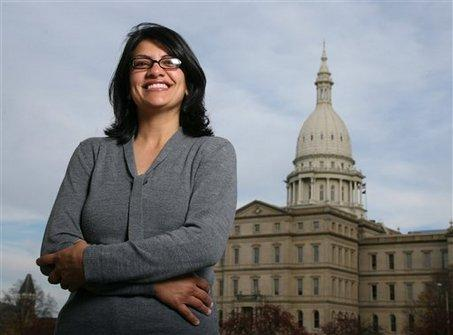 Rashida Tlaib is one of 55 elected officials from Michigan who called upon Congress for immigration reform