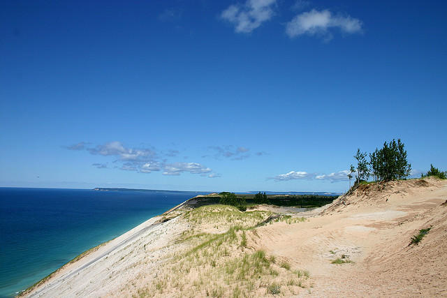 "Sleeping Bear Dunes was voted ""The Most Beautiful Place in America"" on ABC's Good Morning America."