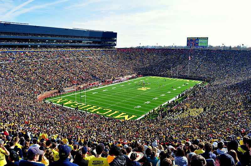 A typical student's view inside the Big House.